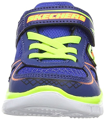 Skechers Jungen Flex Advantage Mini Race Sneakers Blau (Ryyl)