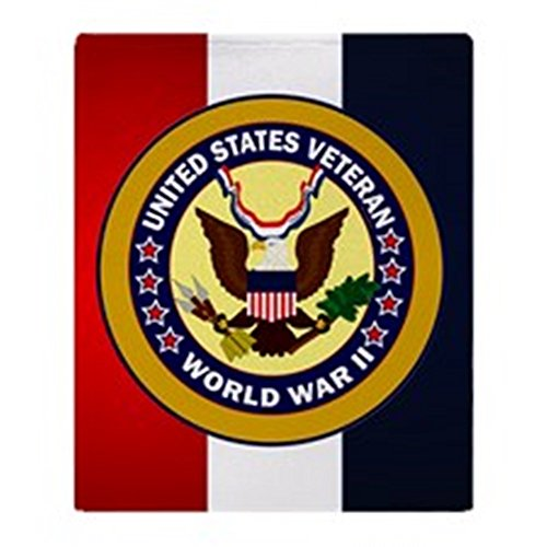 CafePress - Veterans Of World War 2 - Soft Fleece Throw Blanket, 50