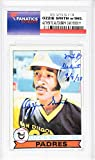 Ozzie Smith San Diego Padres Autographed 1979 Topps #116 Rookie Card with MLB Debut 4/7/78 Inscription - Fanatics Authentic Certified