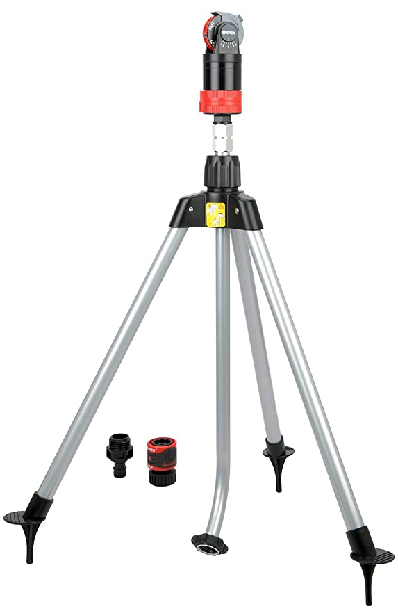 Eden 11530-EDAMZ Multi-Pattern Tripod Sprinkler - The Most Versatile