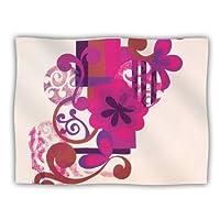 Kess InHouse Louise Machado 'Lilac' Dog Blanket, 40 by 30-Inch