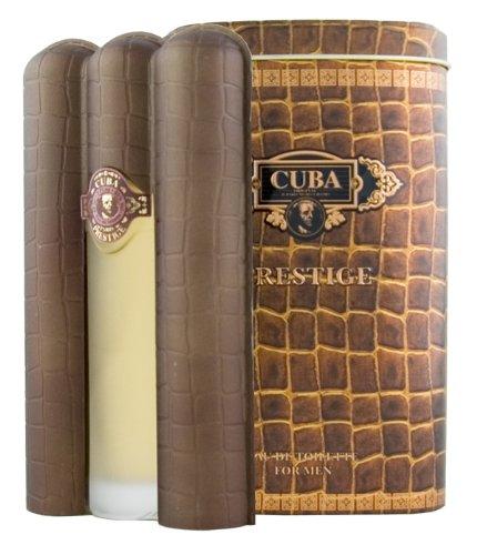Champs Cuba Prestige Eau de Toilette Spray for Men, 3 -