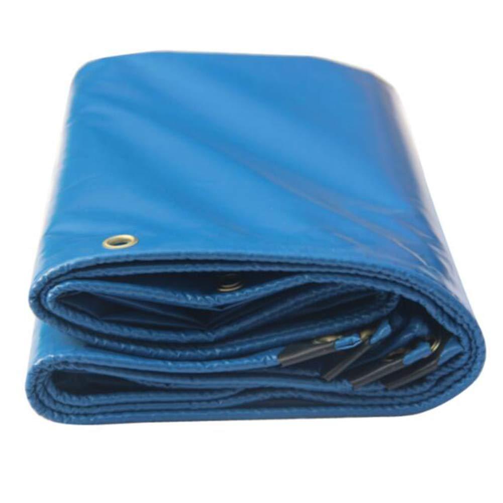 MuMa Telone Addensare Impermeabile Impermeabile Protezione Solare Coltello Graffiare Stoffa su Misura (colore   Blu, Dimensioni   3  3m)