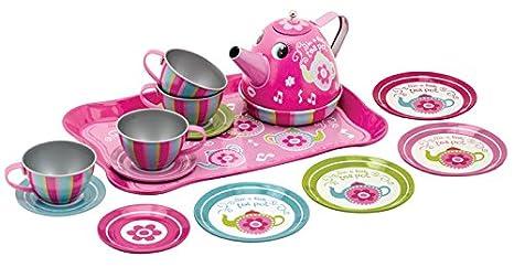Schylling Childrens Ceramic Tea Set