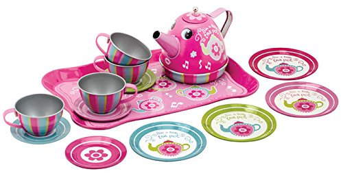 Schylling Musical Tin Tea Set ()