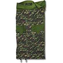 Classic Camouflage Kids Personalized Sleeping Bag by Lillian Vernon