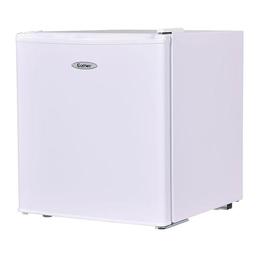 Amazon.com: Costway refrigerador congelador compacto con una ...