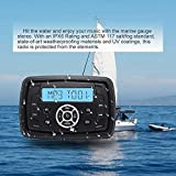 Marine Stereo Audio Radio FM AM Bluetooth Music