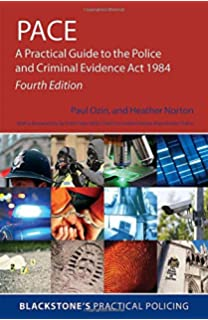 Blackstones police operational handbook practice and procedure pace a practical guide to the police and criminal evidence act 1984 4e fandeluxe Choice Image