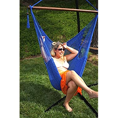 Moontree Hanging Bed Hammock Swing Bed Hanging Rope Chair Swing Chair Hammock Chair-coffee