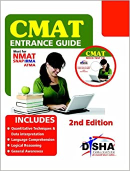 Image result for CMAT Entrance Guide with Mock Test CD 2 Edition by Disha Experts