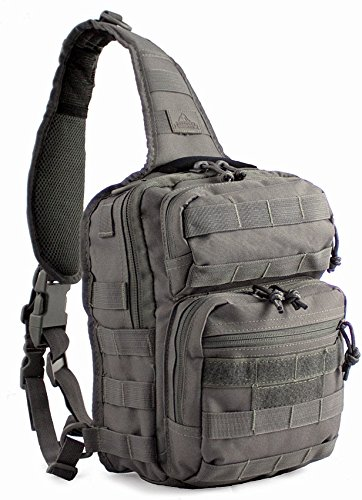 Red Rock Outdoor Gear RED80129TOR-BRK Rover Sling Pack Tornado Gray by Red Rock Outdoor Gear