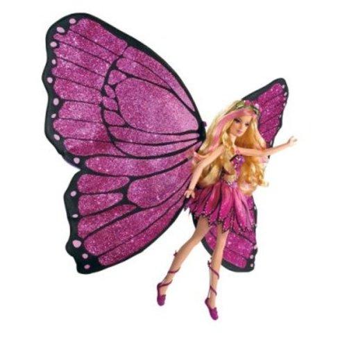 Barbie: Mariposa Magic Wings Mariposa - Mariposa Wings Barbie