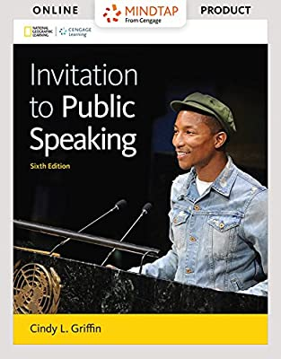 MindTap Speech for Griffin's Invitation to Public Speaking - National Geographic Edition, 6th Edition