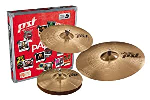paiste pst 5 cymbal universal set only setup 14 inch 16 inch 20 inch musical. Black Bedroom Furniture Sets. Home Design Ideas