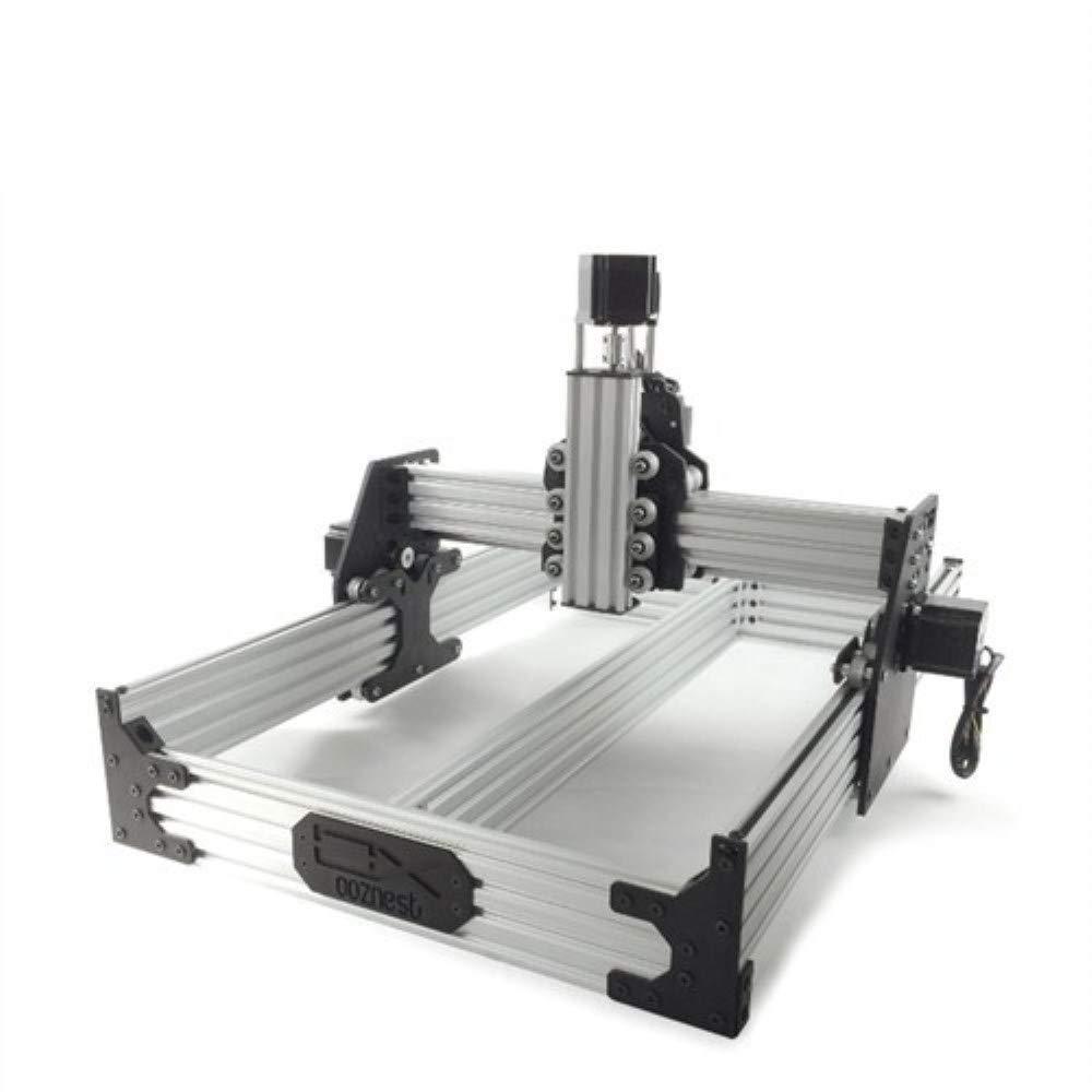 OX CNC Router Machine OX CNC Kit mecánico con 4pcs Nema 23 motor paso a paso Tamaño: 750 * 750mm / 570 * 526MM