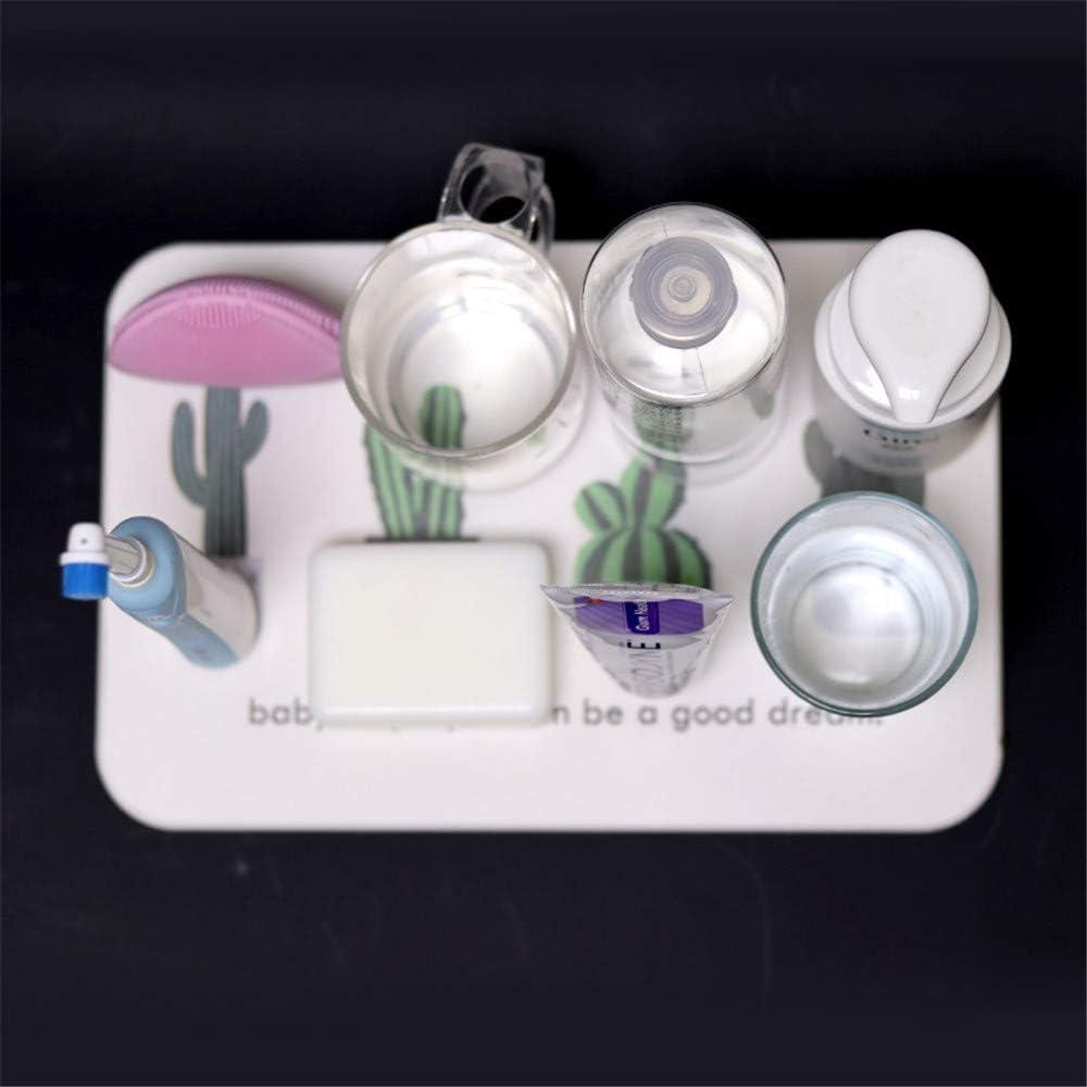 HULE Diatomite washbasin absorbent mat household diatom mud wash mat electric toothbrush coaster soap pad 20x30cm,Grey