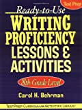 img - for Ready-to-Use Writing Proficiency Lessons and Activities: 8th Grade Level book / textbook / text book