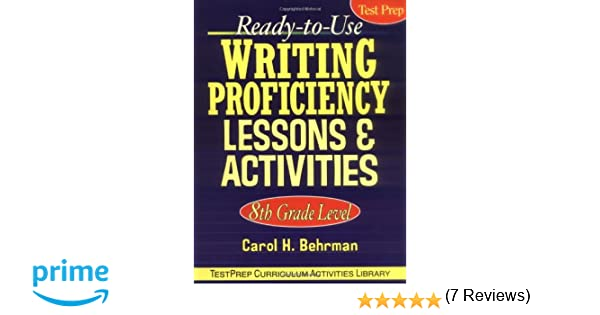 Amazon.com: Ready-to-Use Writing Proficiency Lessons and ...