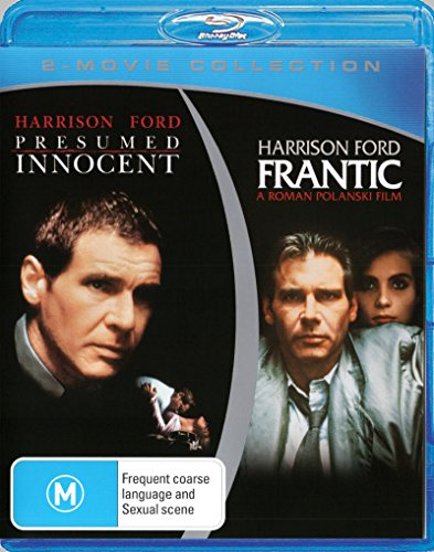Frantic + Presumed Innocent [Harrison Ford] [Blu-ray Double] [NON-USA Format / Region B Import - Australia]