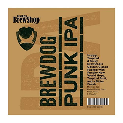 Brooklyn Brew Shop BrewDog Punk IPA Recipe Kit (1 US gallon/3.8L)
