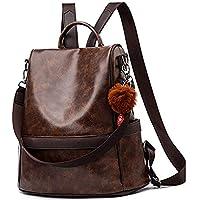 DARASH FASHION Women's Backpack Handbag Maroon