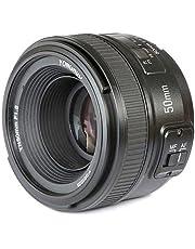 Yongnuo YN50 mm F1.8N Lente estándar de Apertura Grande para Enfoque automático Manual AF MF para cámaras Nikon DSLR