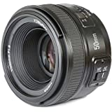 Yongnuo_ YN50MM Nikon F1.8 Standard Prime Lens with Large Aperture,Auto and Manual Focus for Nikon DSLR Cameras