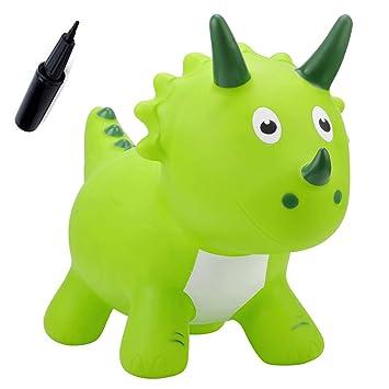 EVERICH TOY - Caballo Hinchable con Forma de Bomba, para Animales ...