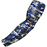Baseball Sleeve: Great for All Sports Including Football Basketball Bowling Golf. Youth, Adult, Boys, Men, Women 20+ Colors/Designs. (One Sleeve)
