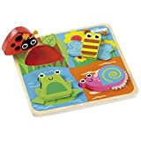 Tidlo Touch and Feel Shape Matching Wooden Bugs by Tidlo