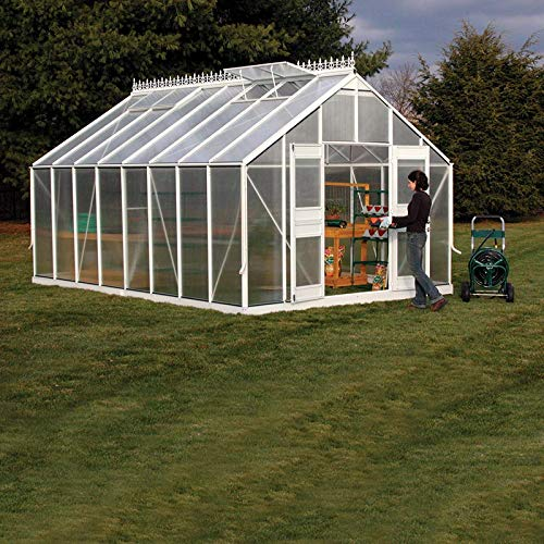Monticello Greenhouse Mojave, 8 x 24 , Black Finish