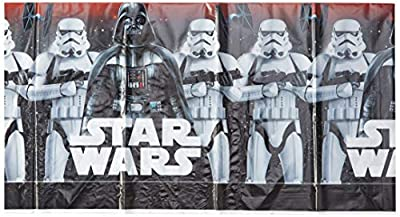"""American Greetings Star WarsTM Classic Plastic Table Cover, 54"""" x 96"""""""