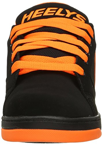 Heelys Männer Propel 2.0 Fashion Sneaker Schwarz / Leuchtend Orange