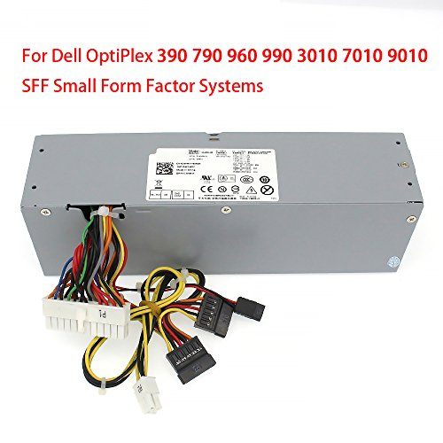 S-Union 240W Power Supply Unit PSU for Dell OptiPlex 390 790 960 990 3010 9010 Small Form Factor System SFF H240AS-00 H240ES-00 D240ES-00 AC240AS-00 AC240ES-00 L240AS-00 3WN11 PH3C2 2TXYM 709MT J50TW by S-Union (Image #3)