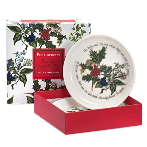 Portmeirion Holly And Ivy Set of 2 Seet Dishes -