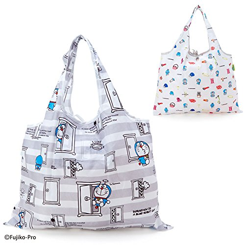 Sanrio Doraemon folding eco bag I'm DORAEMON crayon From Japan New (Famous People With Wigs)