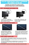 23-Inch Computer Privacy Screen Filter for