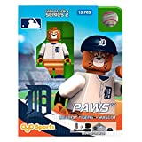 MLB Detroit Tigers Paws Generation 4 Mini Figure, Small, Black