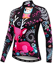 Women's Cycling Jersey Long Sleeve Bicycle Tops MTB Bike Shirts with Poc