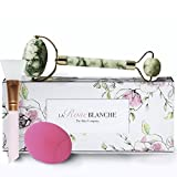 Cleansing Your Healing Crystals - New XIUYAN Anti Aging Therapy Miss Jade Roller Luxury Set, 100% Natural Jade Stone Healing and Slimming Face and Neck Massager with Double Ends by LARoseBLANCHE