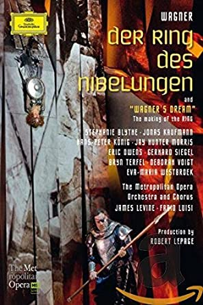 Der Ring Des Nibelungen 5 Blu Ray Set Amazonca Robert