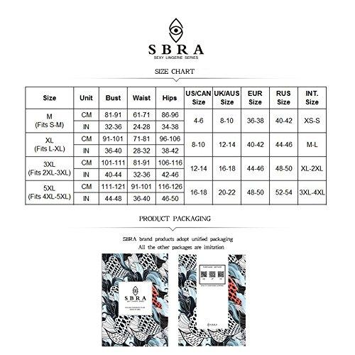 dc24d2d221 Sbra Women Plus Size Corset Bra and 4-Strap Garter Belt with Stocking  Lingerie Sets