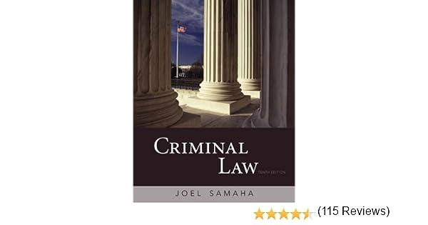 Amazon criminal law ebook joel samaha kindle store fandeluxe Images