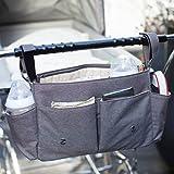 Storksak Stroller Organizer, Charcoal