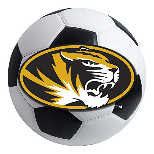 - FANMATS NCAA University of Missouri Tigers Nylon Face Soccer Ball Rug