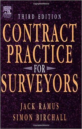 Contract Practice for Quantity Surveyors: Amazon co uk: J W