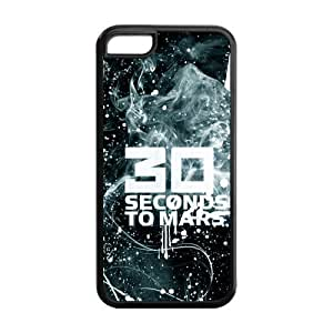 30 Seconds To Mars Solid Rubber Customized Cover Case for iPhone 5c 5c-linda675
