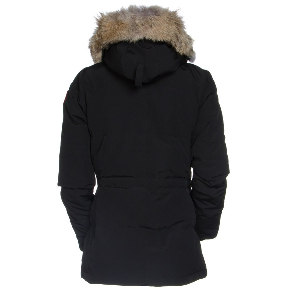 Canada Goose Chelsea Parka L Black  Amazon.co.uk  Clothing 33182c814e61