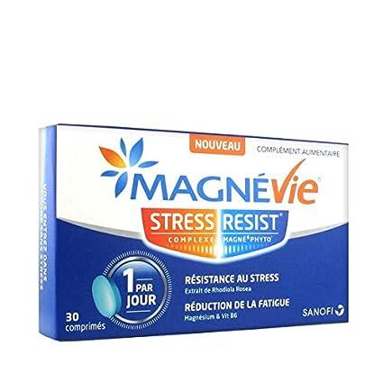 Sanofi magnévie Stress Résist – 3 mes de tratamiento – Lote de 3 cajas de 30